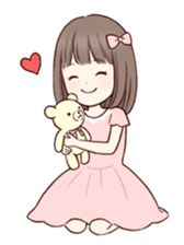 Little girl 1 sticker #716071