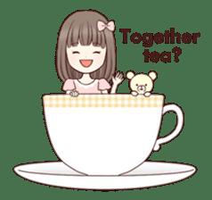 Little girl 1 sticker #716075