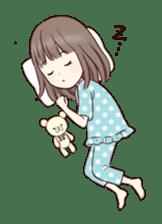 Little girl 1 sticker #716078