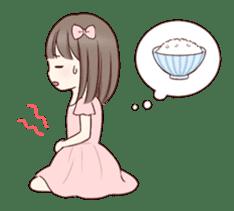 Little girl 1 sticker #716085