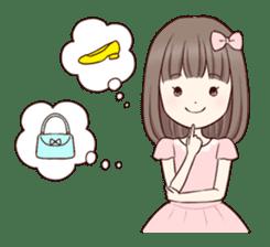 Little girl 1 sticker #716090