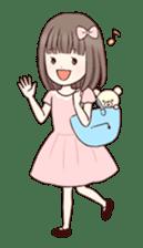 Little girl 1 sticker #716091