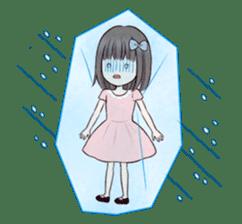 Little girl 1 sticker #716093