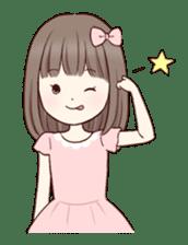 Little girl 1 sticker #716100