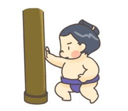 Sumo wrestler (English) sticker #717296