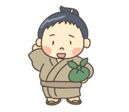 Sumo wrestler (English) sticker #717299