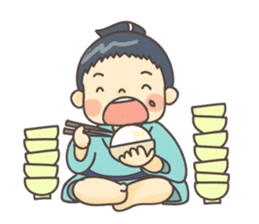 Sumo wrestler (English) sticker #717304