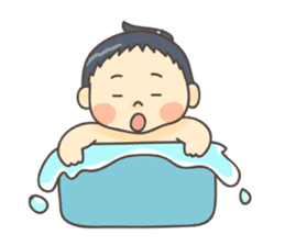 Sumo wrestler (English) sticker #717306