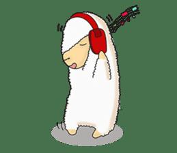 Alpaca Sheep Lover sticker #718113