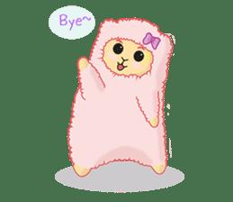 Alpaca Sheep Lover sticker #718114