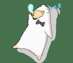 Alpaca Sheep Lover sticker #718122
