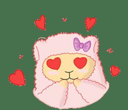 Alpaca Sheep Lover sticker #718126