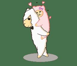 Alpaca Sheep Lover sticker #718129