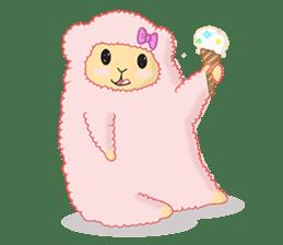 Alpaca Sheep Lover sticker #718140