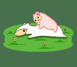 Alpaca Sheep Lover sticker #718142