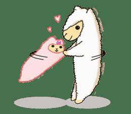 Alpaca Sheep Lover sticker #718143