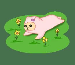 Alpaca Sheep Lover sticker #718144