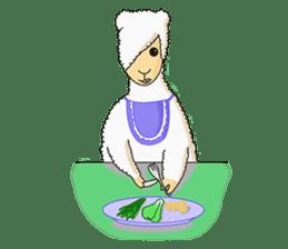 Alpaca Sheep Lover sticker #718146