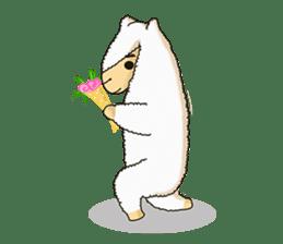 Alpaca Sheep Lover sticker #718150