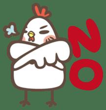 Prince J & His Friend Chicken K sticker #718433