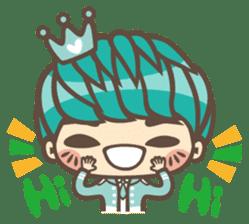 Prince J & His Friend Chicken K sticker #718436