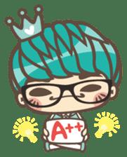 Prince J & His Friend Chicken K sticker #718439