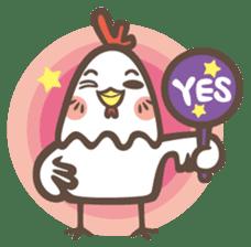 Prince J & His Friend Chicken K sticker #718442