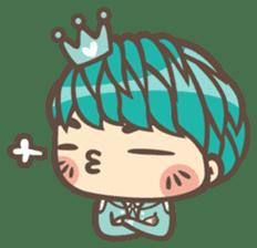 Prince J & His Friend Chicken K sticker #718443