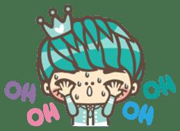 Prince J & His Friend Chicken K sticker #718446