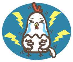 Prince J & His Friend Chicken K sticker #718453