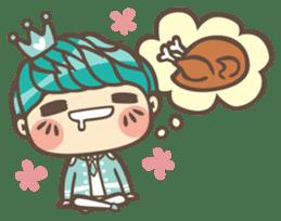 Prince J & His Friend Chicken K sticker #718457