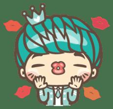 Prince J & His Friend Chicken K sticker #718459