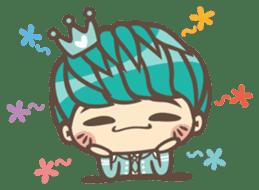 Prince J & His Friend Chicken K sticker #718460