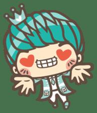 Prince J & His Friend Chicken K sticker #718463