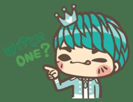 Prince J & His Friend Chicken K sticker #718464