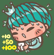 Prince J & His Friend Chicken K sticker #718465