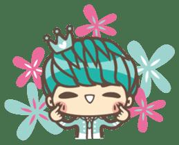 Prince J & His Friend Chicken K sticker #718466