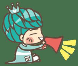 Prince J & His Friend Chicken K sticker #718467