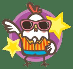 Prince J & His Friend Chicken K sticker #718469
