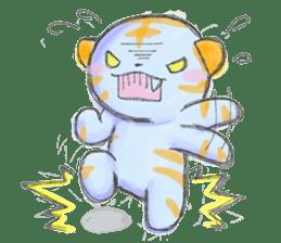 Green Tiger sticker #718602