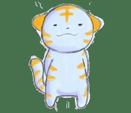 Green Tiger sticker #718605