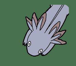 axolotl/Mexico salamandar sticker #718720