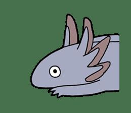 axolotl/Mexico salamandar sticker #718723