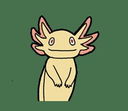 axolotl/Mexico salamandar sticker #718725