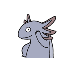 axolotl/Mexico salamandar sticker #718733