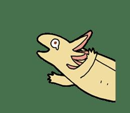 axolotl/Mexico salamandar sticker #718735