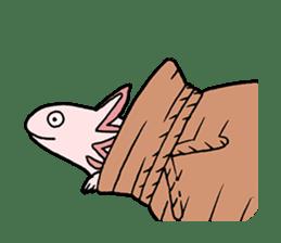 axolotl/Mexico salamandar sticker #718740