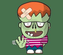 Franky The Zombie sticker #719031