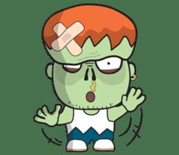 Franky The Zombie sticker #719032