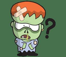Franky The Zombie sticker #719034